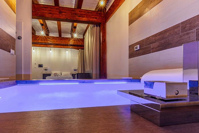 bed and breakfast spa idromassaggio design