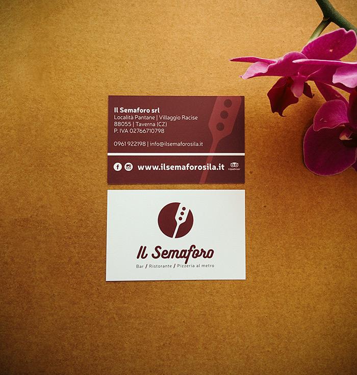creazione e stampa biglietti da visita bar ristorante pizzeria