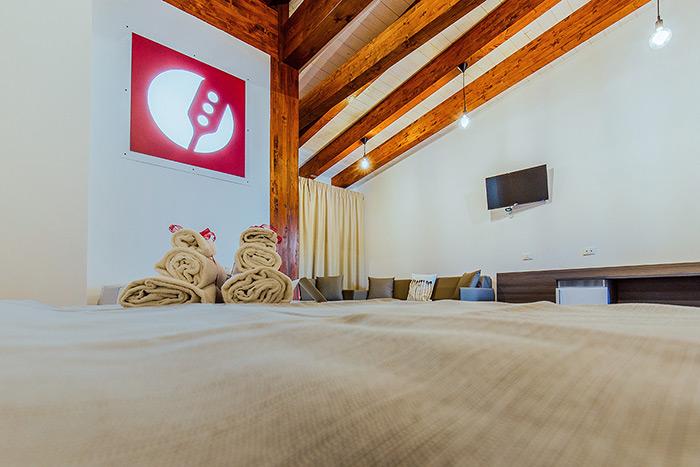 interior design albergo