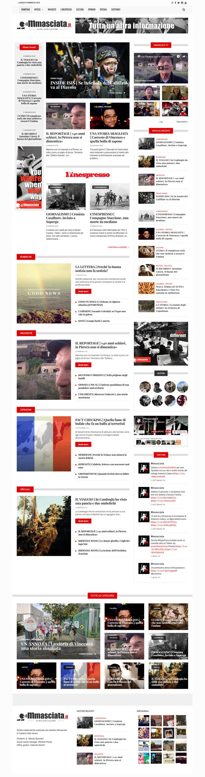 mmasciata giornale online magazine indipendente cosenza calabria