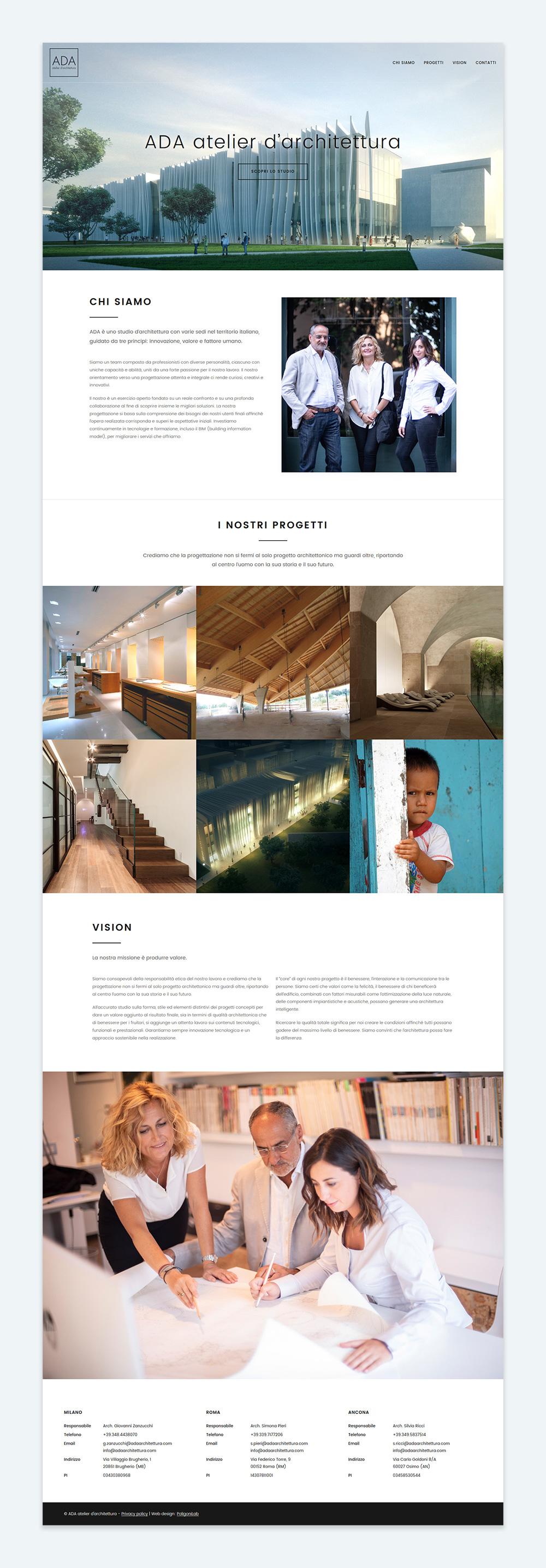 Studi Architettura Roma Lavoro ada atelier d'architettura – poligonilab, agenzia creativa