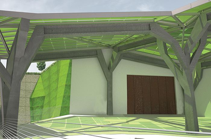 render e fotomontaggi tavole architettura calabria