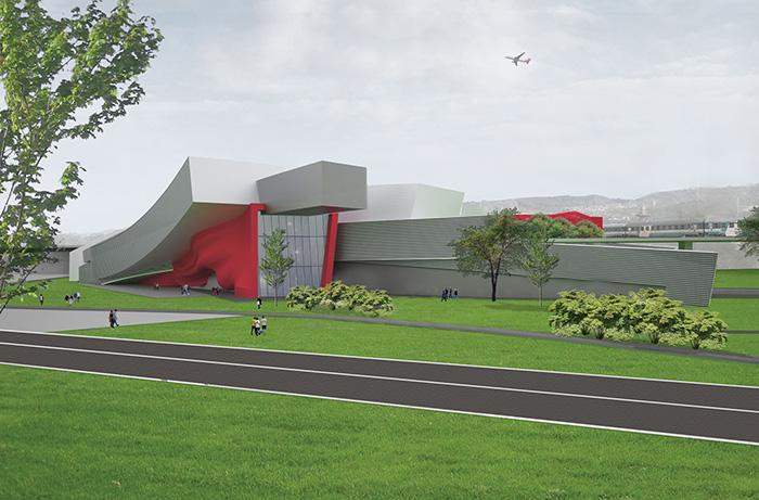 render e impaginazione concorso internazionale di architettura